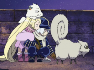 Too many weird animals in this anime.